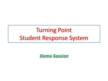"Turning Point Student Response System. In which year did the ""Peanuts"" comic strip begin publication? 1.1950 2.1955 3.1960 4.1965."