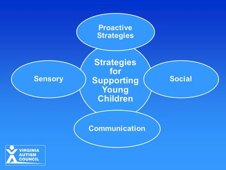 Topics Description of Sensory Systems Sensory Processing Differences in Persons with ASD Impact of Sensory Processing Differences Strategies for Preschool.