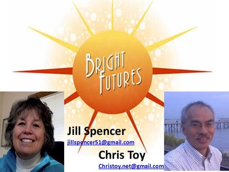 Jill Spencer Chris Toy