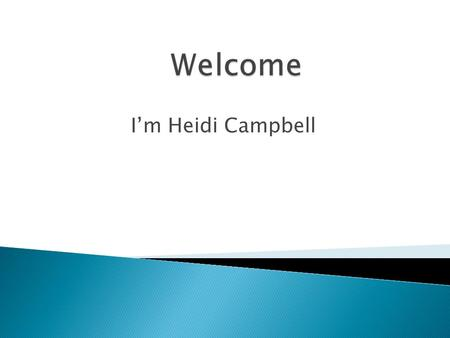 I'm Heidi Campbell.  Many aspects of acquiring a language we may simply be unaware of.  Much of today will make you aware of many subconscious aspects.