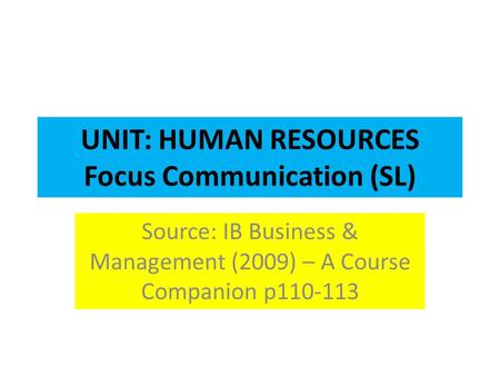as applied business unit 3 coursework