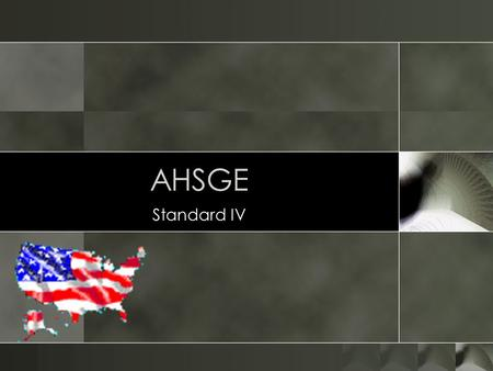 AHSGE Standard IV. Prelude to War o What congressional solution made California a free state and gave popular sovereignty to the New Mexico and Utah territories?