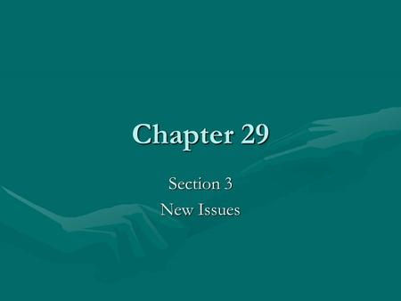 Chapter 29 Section 3 New Issues. Problems Facing Urban African Americans 1965-1968 Race riots broke out in many cities.1965-1968 Race riots broke out.