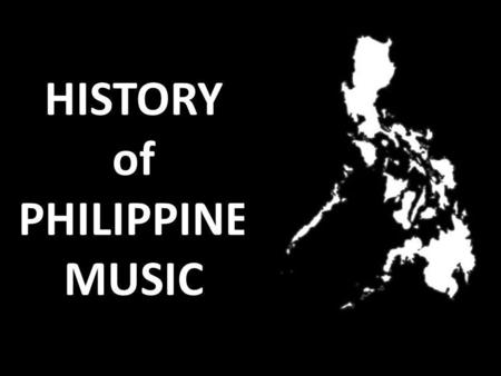 HISTORY of PHILIPPINE MUSIC. I. Indigenous Music Largely functional Expressed either instrumentally, vocally, or a combination of both.