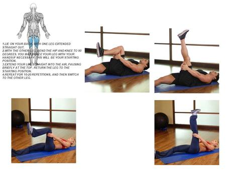 90/90 Hamstring Guide Main Muscle: Hamstrings CLICK TO ENLARGE