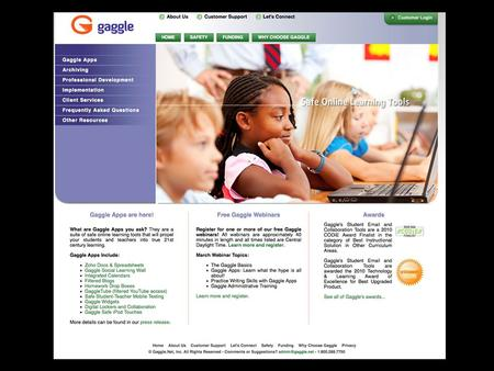 What Is GAGGLE? Gaggle is an online learning tool that the ABC Unified School District recently adopted. Once you activate your account, that account.