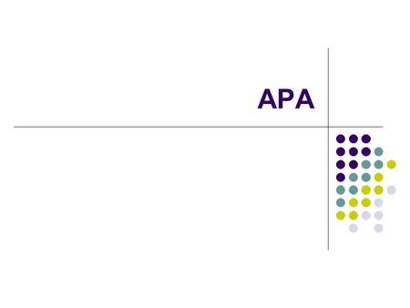 how to make apa margins