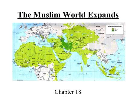The Muslim World Expands Chapter 18.