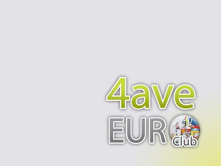 Living circumstances of young and old people in our region 2 4ave Euro Club.