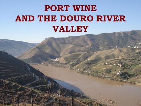 PORT WINE AND THE DOURO RIVER VALLEY. Location The Douro Valley is one of the most famous and most important wine producing regions in Portugal. Its boundaries.