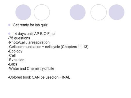 Ap biology essay questions cell communication