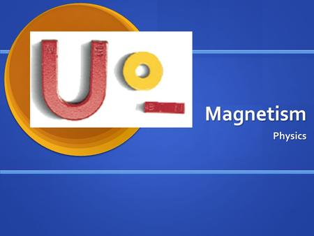 Magnetism Physics. A little history… Until the early 19 th century, scientists thought electricity and magnetism were unrelated Until the early 19 th.