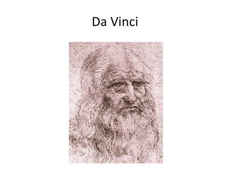 Da Vinci. sketchbooks.