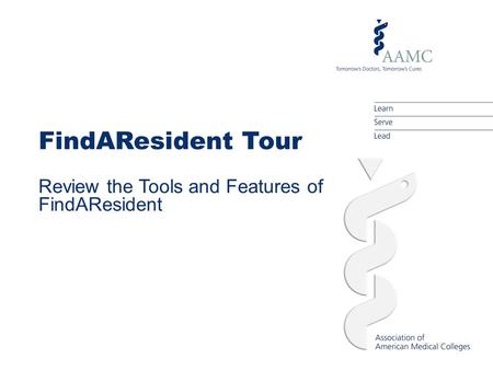 FindAResident Tour Review the Tools and Features of FindAResident.