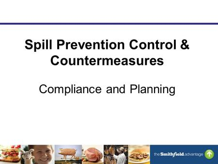 Spill Prevention Control & Countermeasures Compliance and Planning.