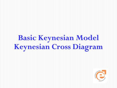 Basic Keynesian Model Keynesian Cross Diagram. Measuring the macroeconomy Pág.2 GNPpm = GDP – factor incomes from abroad + factor incomes of foreigners.
