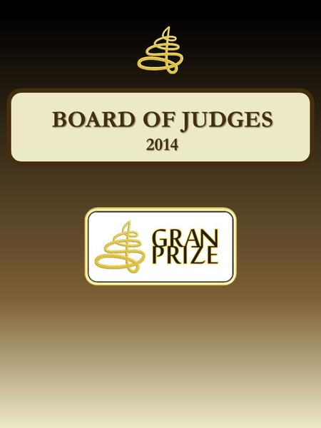 BOARD OF JUDGES 2014.