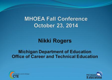 MHOEA Fall Conference October 23, 2014