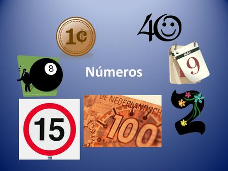 Números. SPANISH I - NUMBERS IN ENGLISH ZERO (0) COMO SE DICE EN ESPANOL CERO.