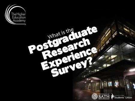 What is the Postgraduate Research Experience Survey?