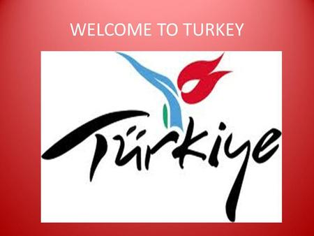 WELCOME TO TURKEY HAVE YOU EVER VISITED TURKEY? IF YOUR ANSWER IS NO, NOW IS A GOOD OPPORTUNITY TO SEE TURKEY.