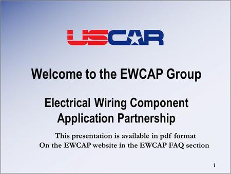Welcome to the EWCAP Group