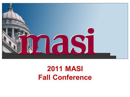 2011 MASI Fall Conference. 2010 Statistical Highlights There were 11,290 lost time accidents exceeding 5 days 2,626 claims controverted in 2010 Hinds.
