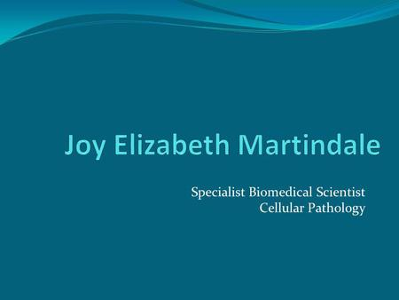 Joy Elizabeth Martindale