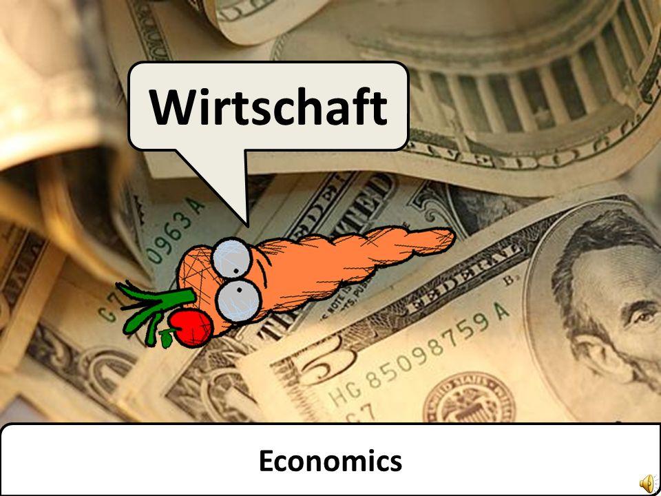 Economics Wirtschaft