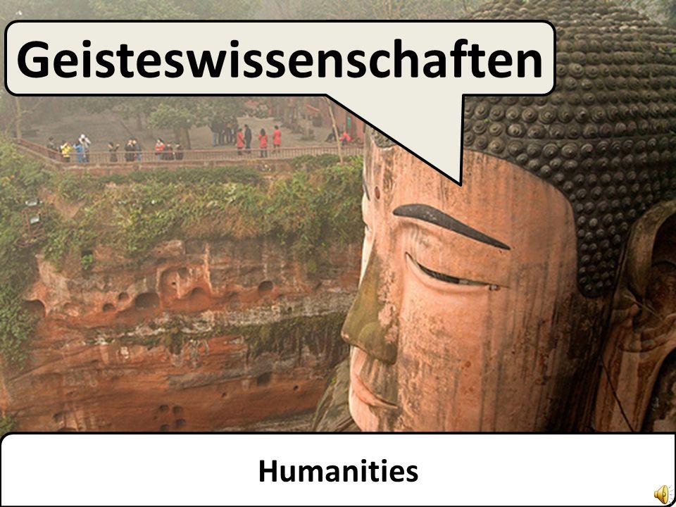 Humanities Geisteswissenschaften
