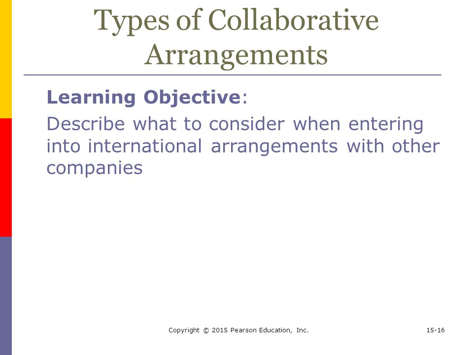 Collaborative Teaching Of Learning ~ International business environments operations ppt