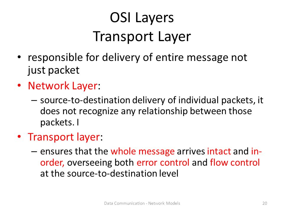 Relationship between network operation system and osi model