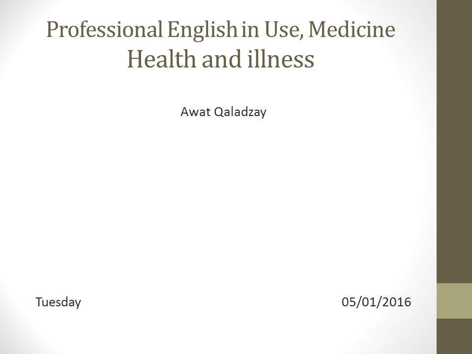 professional english in use medicine pdf