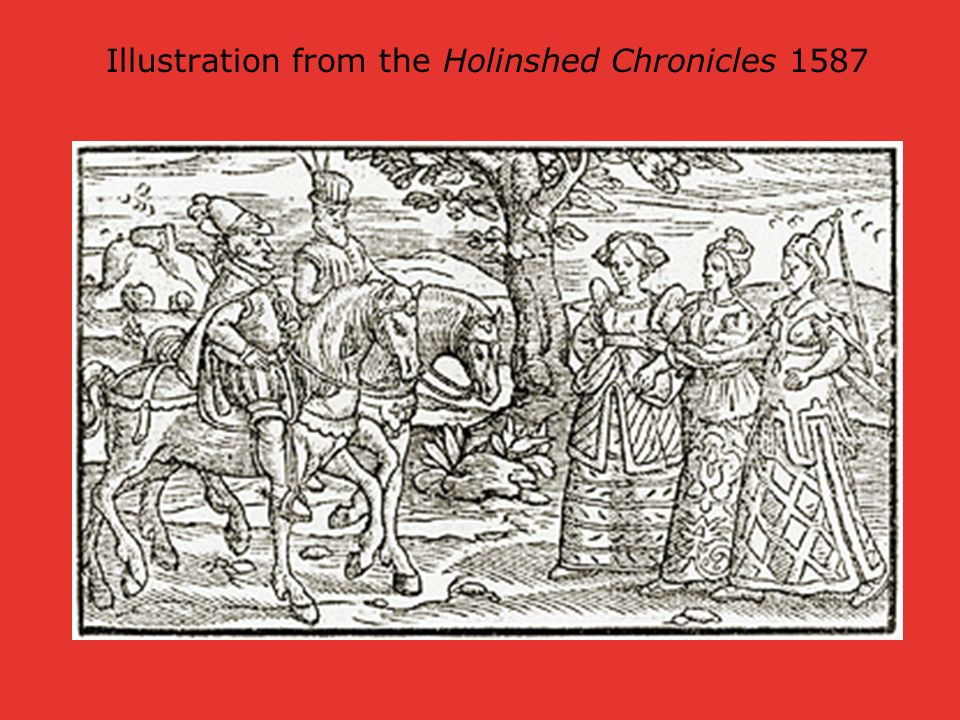Illustration from the Holinshed Chronicles 1587