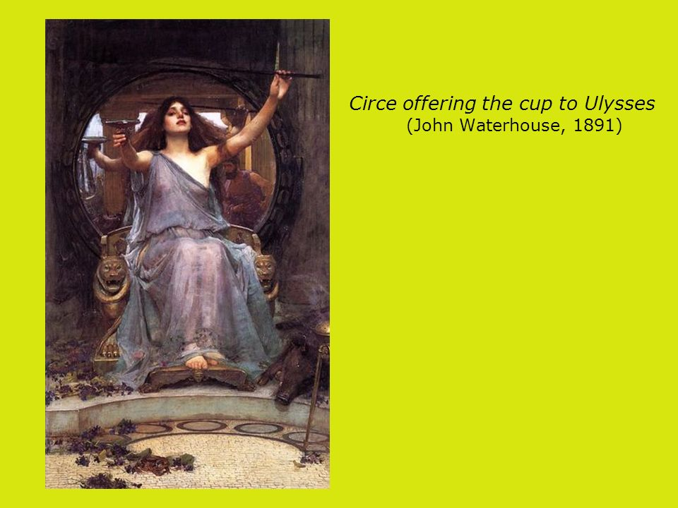 Circe offering the cup to Ulysses (John Waterhouse, 1891)