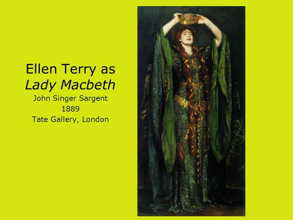 Ellen Terry as Lady Macbeth