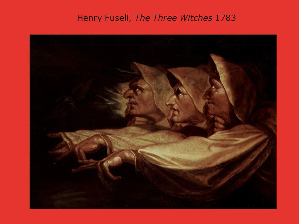 Henry Fuseli, The Three Witches 1783