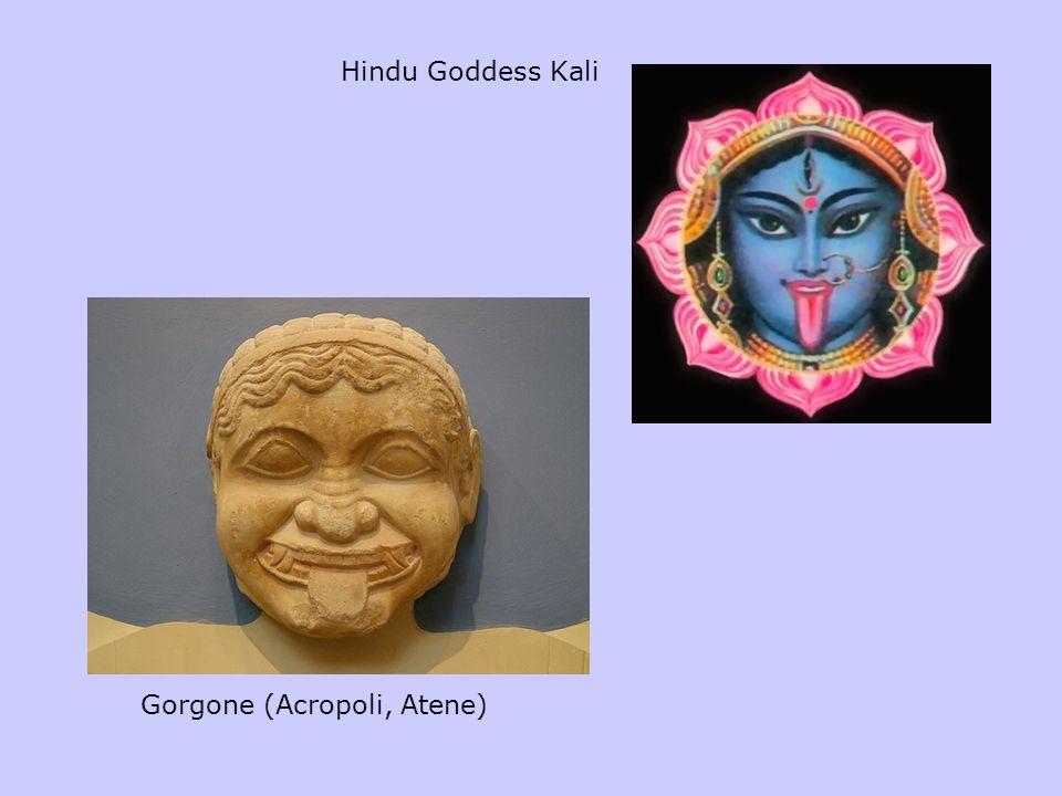 Hindu Goddess Kali Gorgone (Acropoli, Atene)