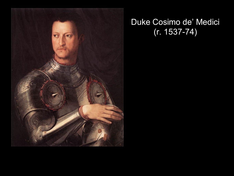 Duke Cosimo de' Medici (r. 1537-74)
