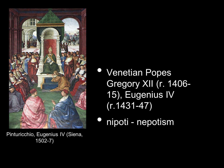 Pinturicchio, Eugenius IV (Siena, 1502-7)