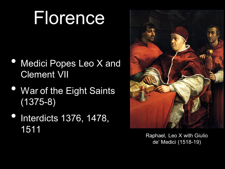 Raphael, Leo X with Giulio de' Medici (1518-19)