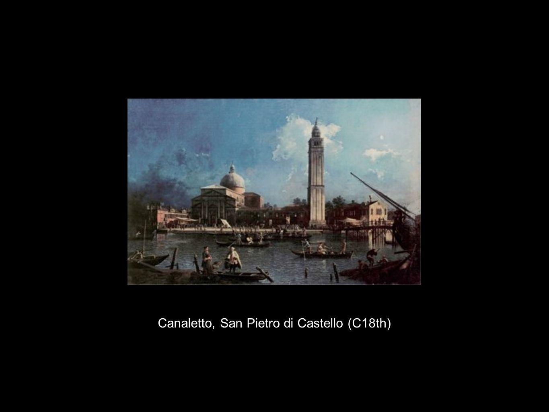 Canaletto, San Pietro di Castello (C18th)