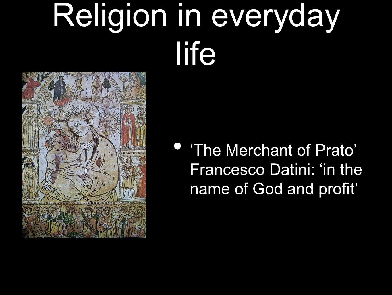 Religion in everyday life