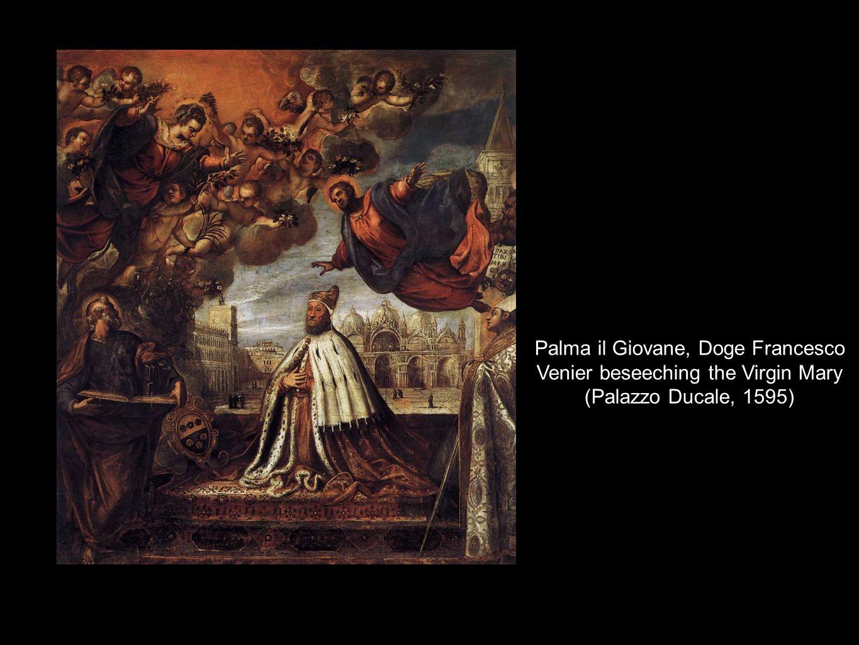 Palma il Giovane, Doge Francesco Venier beseeching the Virgin Mary (Palazzo Ducale, 1595)