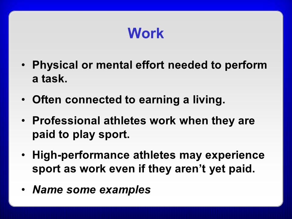 physiological aids sport they and they do athlete Want to play college sports the value of the ncaa sport science institute works closely with the committee on competitive safeguards and medical aspects of sports and is committed to excellence and wellness in college student-athletes, and to foster lifelong physical and mental.