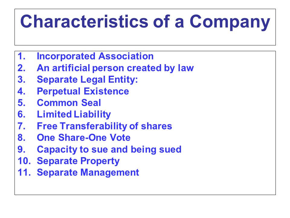 Companies act ppt download for 6 characteristics of bureaucracy