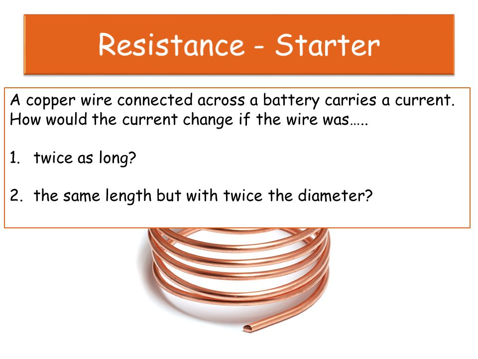 Resistance starter 2 most wires are cylindrical in shape with a 2 resistance starter keyboard keysfo Image collections