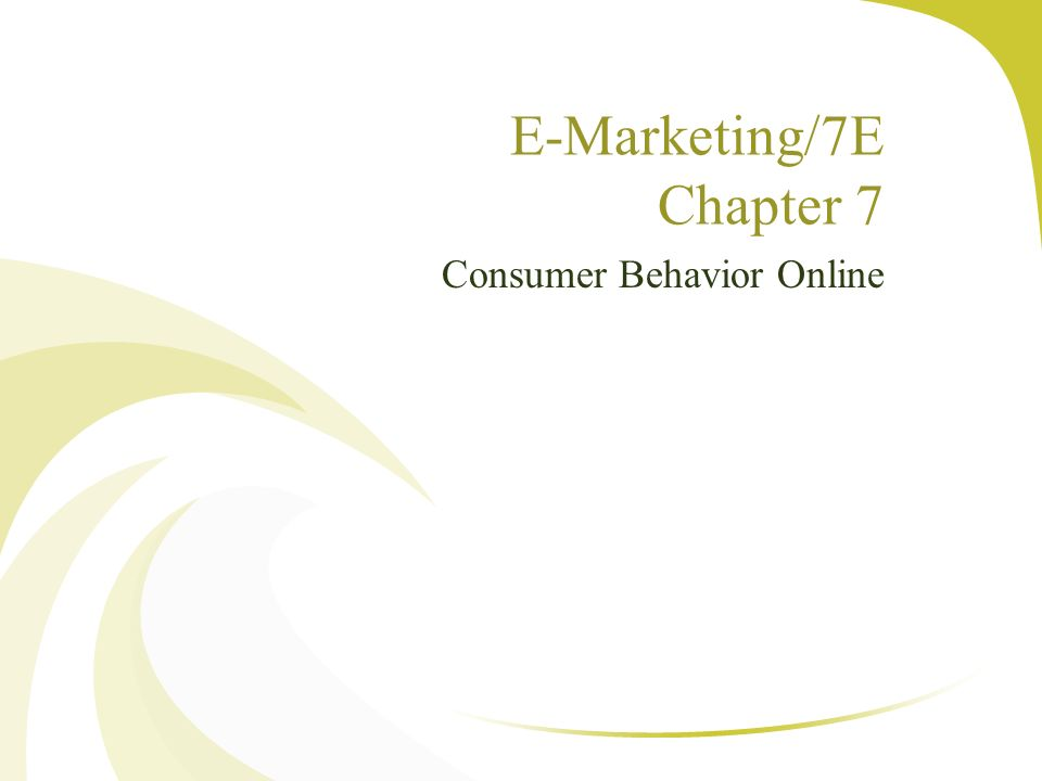 E Marketing 7e Chapter 7 Ppt Video Online Download