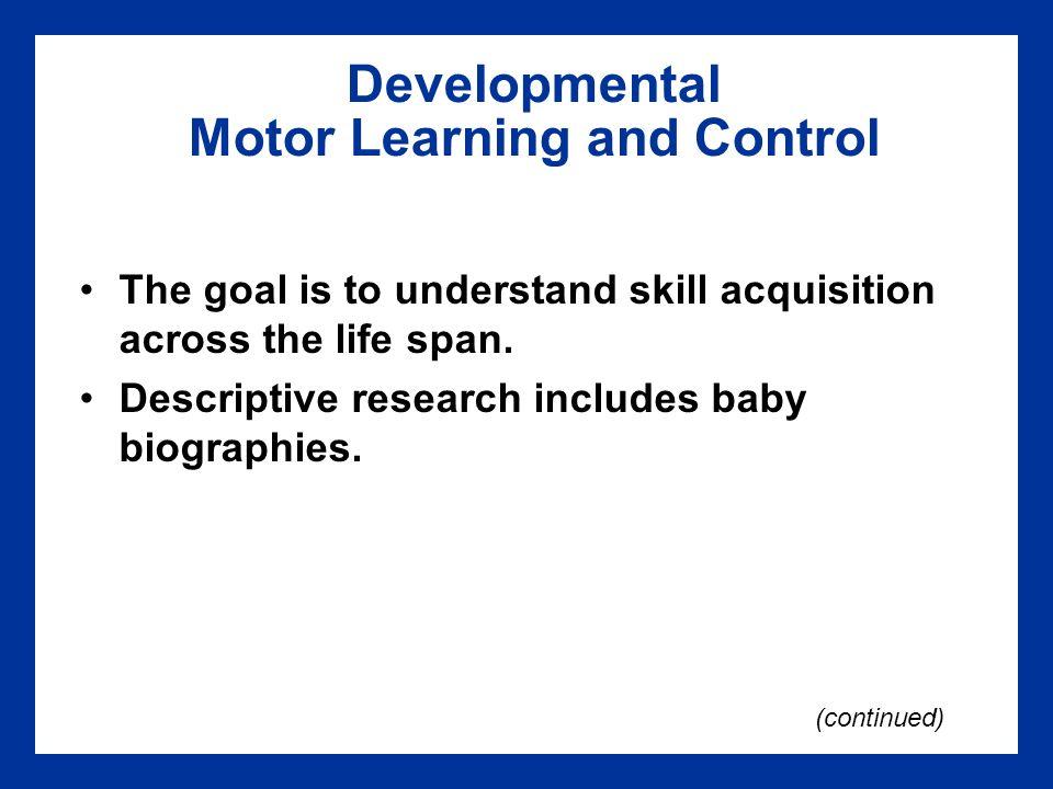 Chapter 8 Motor Behavior Ppt Video Online Download