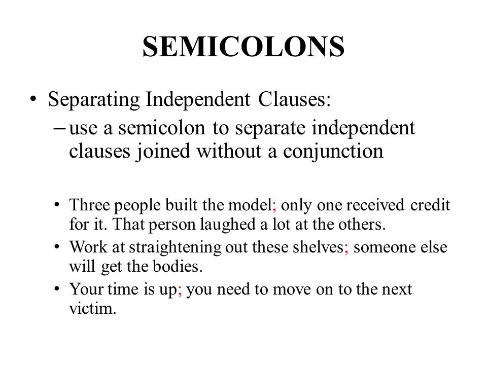 Semicolons &amp- Colons. - ppt video online download